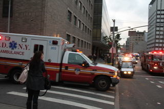 Bellevue Hospital Evacuated