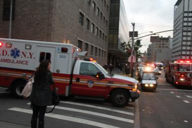 Bellevue Hospital was evacuated in the aftermath of Hurricane Sandy and is working its way back to full functionality.