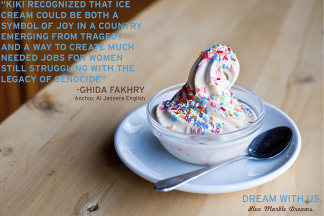 <p>The soft serve ice cream features no chemicals and is made in-house.</p>
