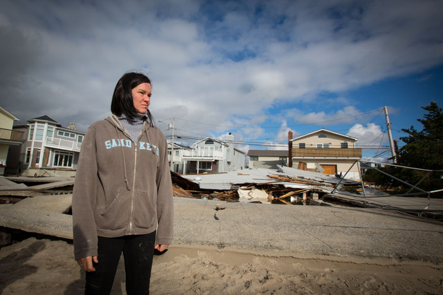 <p>Many residents said on October 31, 2012 that they would rebuild their damaged properties from Hurricane Sandy.</p>