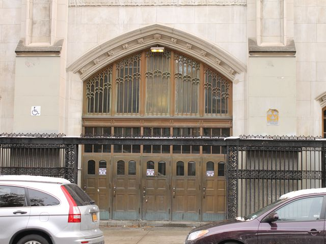 <p>Brooklyn Technical High School in Fort Greene reopened to students Thursday, Nov. 8, 2012, while also still serving as a shelter for those displaced by Hurricane Sandy.</p>
