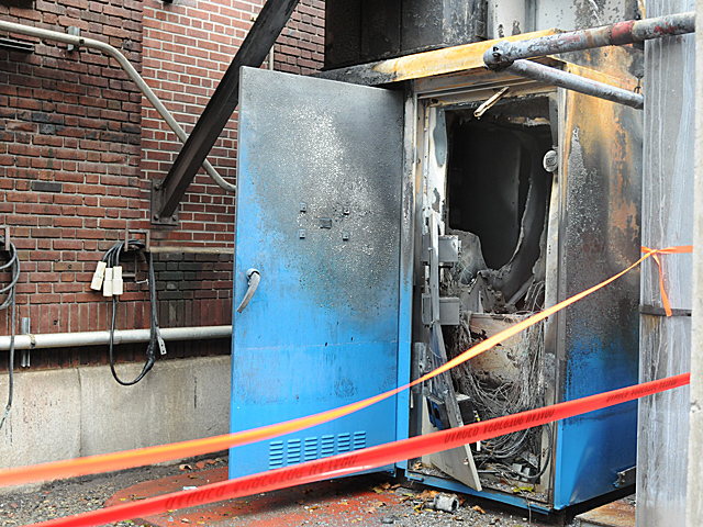 <p>Con Eidson officials said the explosion their facility on East 14th Street was caused by a water breach that shorted a circuit breaker during Hurricane Sandy, Oct. 30, 2012.</p>