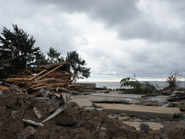 <p>The beachside community of Sea Gate was among the hardest hit during Hurricane Sandy. Homes on Atlantic Avenue were torn apart and tossed around like dollhouses.</p>