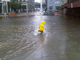 Water Levels Rise in DUMBO, Locals Brace for a Redux of Last Year's Floods