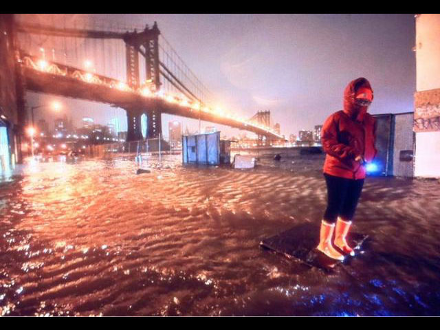 <p>October 30, 2012 - DUMBO during Sandy.</p>