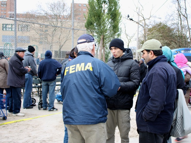<p>FEMA toured Coney Island over the weekend in the wake of Hurricane Sandy.</p>