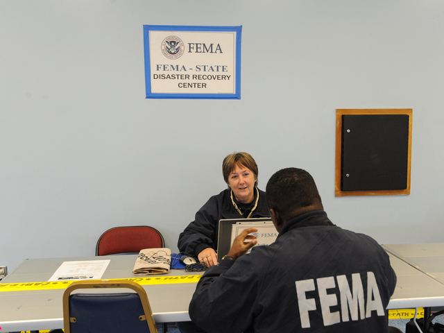 <p>FEMA center in Tottenville opened at 8am in Staten Island.</p>