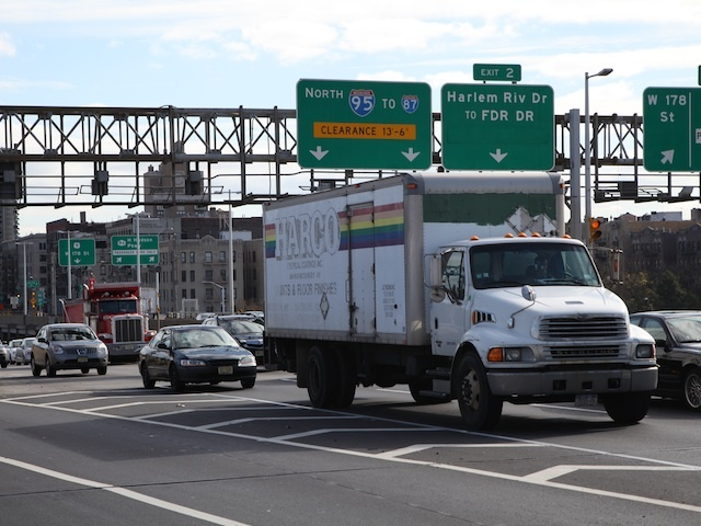 <p>Continued fuel shortages kept many vehicles off the road Monday, Nov. 5, 2012, helping alleviate congestion one week after Hurricane Sandy devastated roads and mass transit around the New York City area.</p>