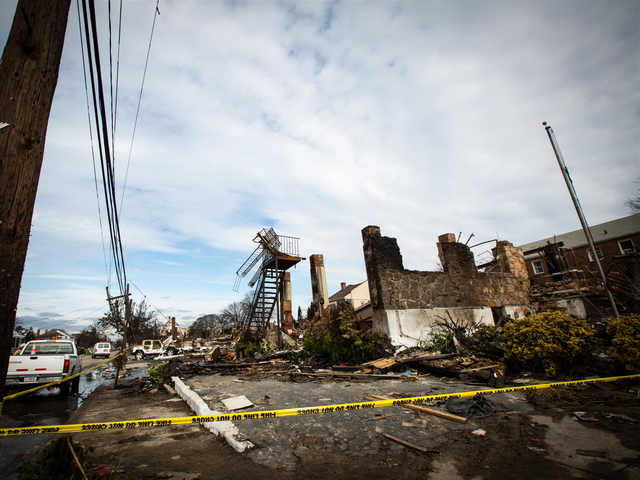 <p>The Harbor Light Pub was the command station for emergency workers when a plane crashed in Rockaway in November 2001. It was destroyed by a fire during Hurricane Sandy.</p>