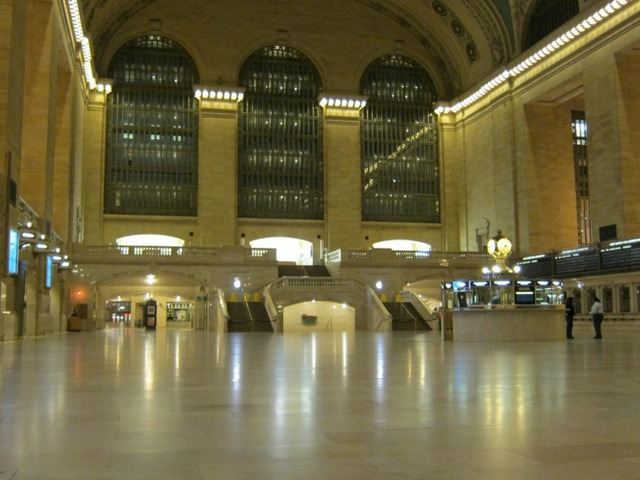 <p>Grand Central closed early on Sunday, Oct. 28, 2012, in advance of Hurricane Sandy&#39;s arrival.</p>