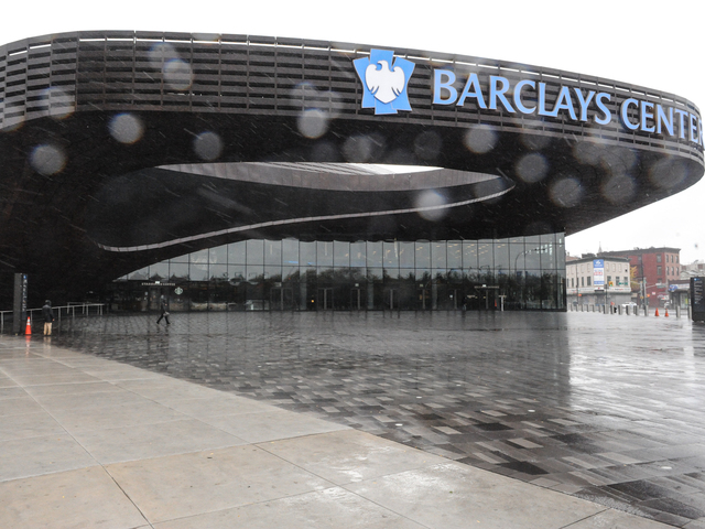 <p>The Barclays Center opened in downtown Brooklyn in fall 2012.</p>