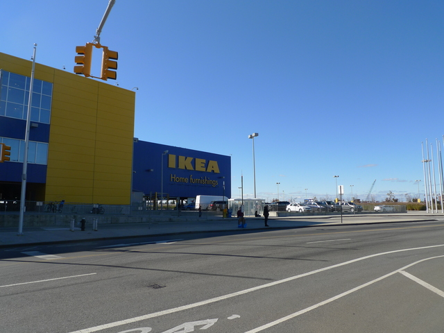 <p>The Ikea in Red Hook on Sunday, Nov. 4. It was open for business following Hurricane Sandy.</p>