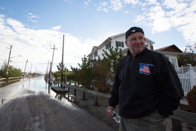 <p>John Nies, 55, said that he would never again stay back when facing a hurricane again.</p>