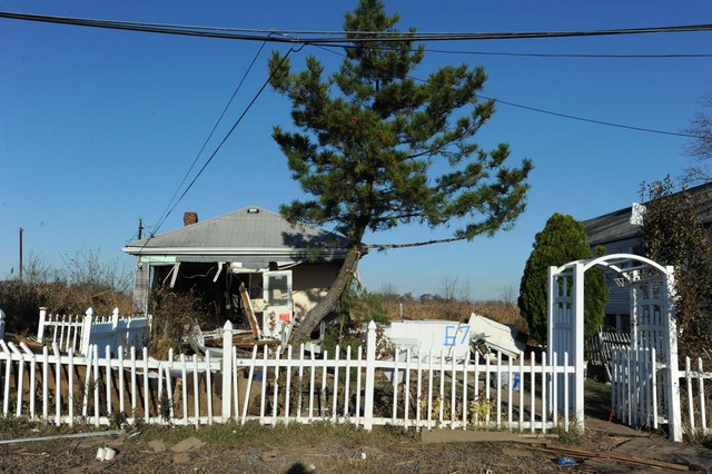 <p>More than a dozen houses on Kissam Avenue in Staten Island were leveled during Hurricane Sandy.</p>