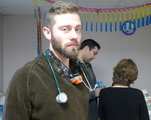 Med Student Sets Up Makeshift Clinic to Help Red Hook's Sandy Victims