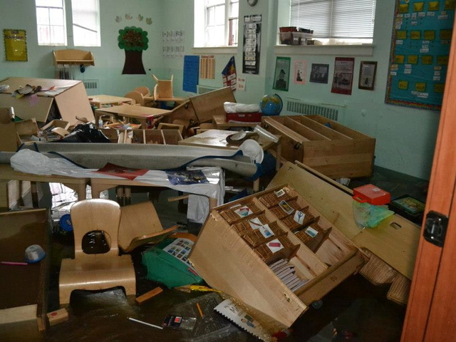 <p>Hurricane Sandy all but destroyed the Mazel School, a Jewish day school popular among Russian immigrants in Brighton Beach. Students have been flung to the far corners of Brooklyn while the school searches for a more permanent site.</p>