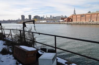 The Climate Central report showed Newtown Creek did not face the brunt of Sandy's sewage overflows.