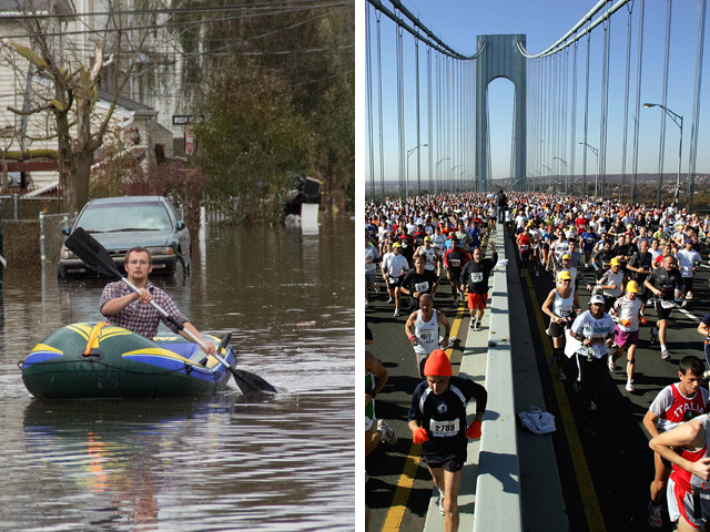 <p>As the situation on Staten Island remained dire, the ING New York City Marathon was expected to continue as planned on Sunday.</p>