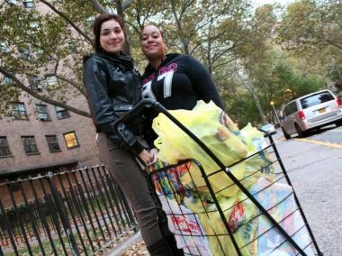 Many NYCHA residents are determined to wait out the hurricane in their homes.