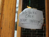 What's Still Open and What's Closed Amid Hurricane Sandy