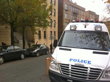 A woman was found stabbed to death under a burning mattress inside her Kingsbridge apartment Oct. 25, 2012.