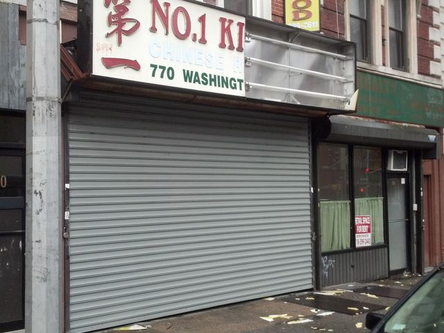 <p>No. 1 Kitchen Chinese Restaurant suffered damage to its sign on Washington Avenue.</p>