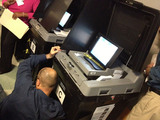 Uptown Voters Face Broken Scanning Machines and Confusion While Voting