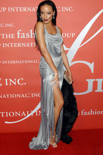 <p>Selita Ebanks at the Fashion Group&#39;s Night of Stars Gala at Cipriani Wall Street, Thursday, October 25, 2012.</p>