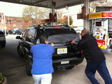 Man Pulls Gun at Queens Gas Station as Cars Line Up for Scarce Fuel