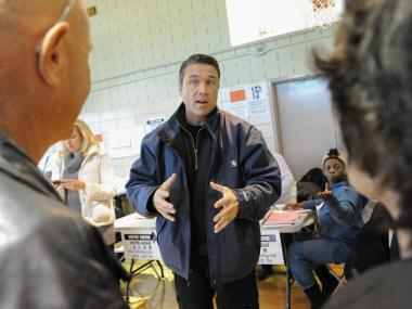 Many voters said they were indifferent towards what was once a heated congressional race.