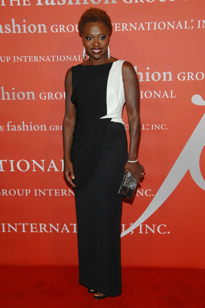 <p>Viola Davis at the Fashion Group&#39;s Night of Stars Gala at Cipriani Wall Street, Thursday, October 25, 2012.</p>