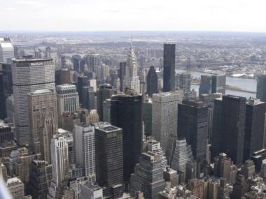 A new study says unemployment rates vary widely among Manhattan neighborhoods.