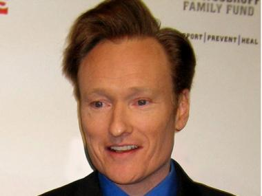 Comedian Conan O'Brien signed a contract six years ago that said he would take over as host of the