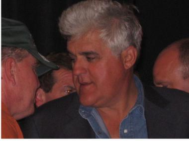 Funnyman Jay Leno, whose fate at NBC is in question.