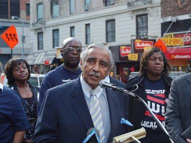 Congressman Charlie Rangel sent fliers to his constituents giving income tax tips while the House Ethics committee is investigating him for failure to pay taxes.