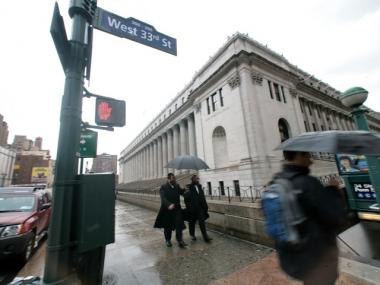 The James A. Farley Post Office will be the home of a new train station serving Amtrak.