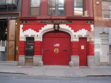 The Fire Patrol station purchased by Anderson Cooper for $4.3 million.