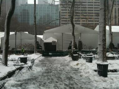Fashion Week kicks off on Thursday, despite the snow.