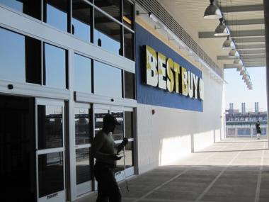 Best Buy opened in March 2010 at East River Plaza