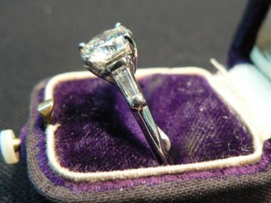 A man is suing his ex-bride-to-be over an 4-carat engagement ring (not pictured) she refuses to return.