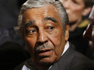 Rep. Charles Rangel, D-N.Y., was charged with ethics violations by a House committee on Thursday.