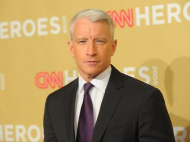 Anderson Cooper attends the CNN Heroes Awards on Nov. 21, 2009 in Hollywood, California.