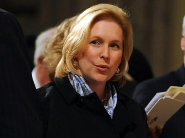 Sen. Kirsten Gillibrand (D-NY) pictured April 15, 2009 in New York City.