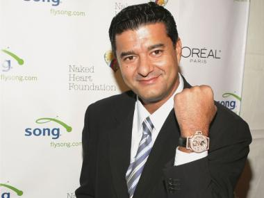 Jacob 'The Jeweler' Arabo attends the one year anniversary of Marquee in 2004.