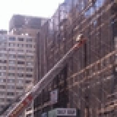 Fire breaks out in west 54th street building midtown for 70 park terrace east new york ny
