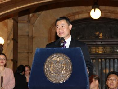 Comptroller John Liu's officer was reportedly contacted about access to city pension funds by consultants who helped run his campaign.