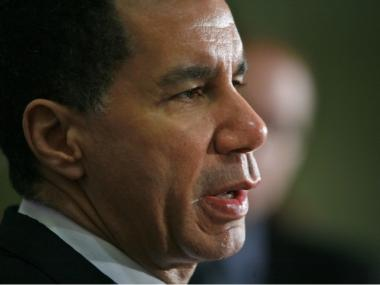 Gov. David Paterson said the stop-and-frisk database made a mockery of the constitution.