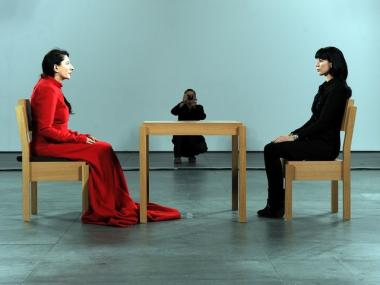The Museum of Modern Art, which presented a retrospective of Marina Abramovic, left, last year, announced a new partnership with Volkswagen on Tuesday.
