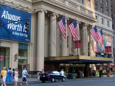 The historic Hotel Pennsylvania could soon become an office tower.
