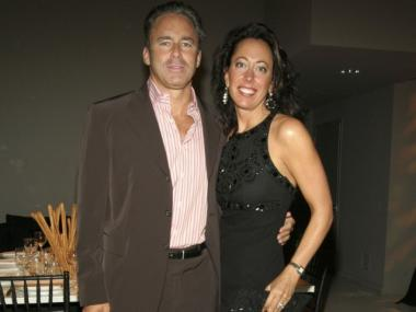 Tatiana and Campion Platt at a benefit for the Watermill Center in New York City on April 18, 2006.